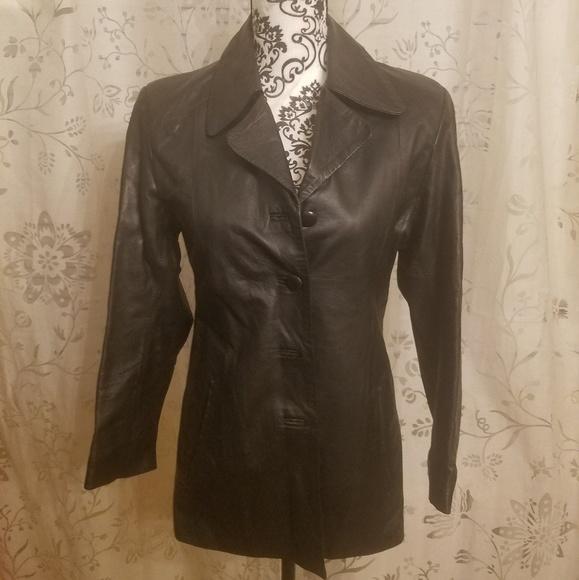 fea73de108db Jackets & Coats | Womens Italian Leather Jacket | Poshmark